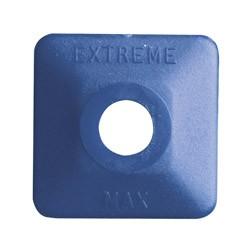 Extreme Square Blue Plastic 48 pack