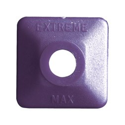 Extreme Square Purple Plastic 24 pack