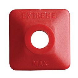 Extreme Square Red Plastic 48 pack