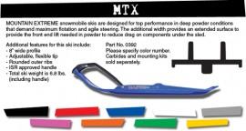 C,A Pro MTX Mountain Extreme Ski